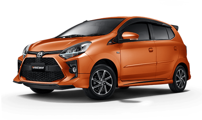 2 agya 2020 orange metallic